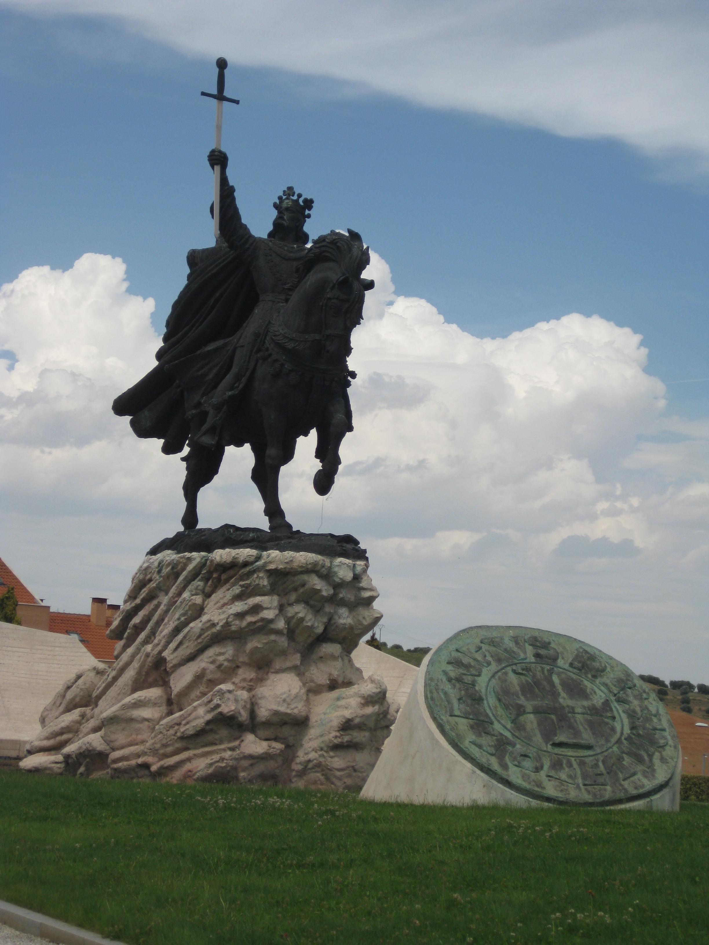 ALFONSO VI DE LEÓN, EL BRAVO. CONQUISTADOR DE TOLEDO EN 1085.