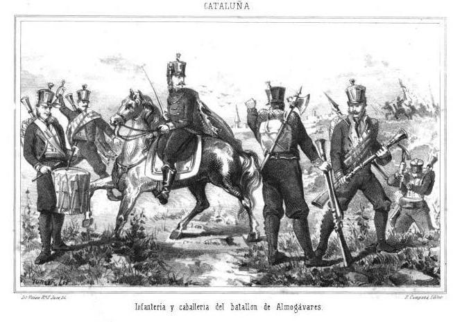 Caballeria e Infanteria de los ALMOGÀVARES