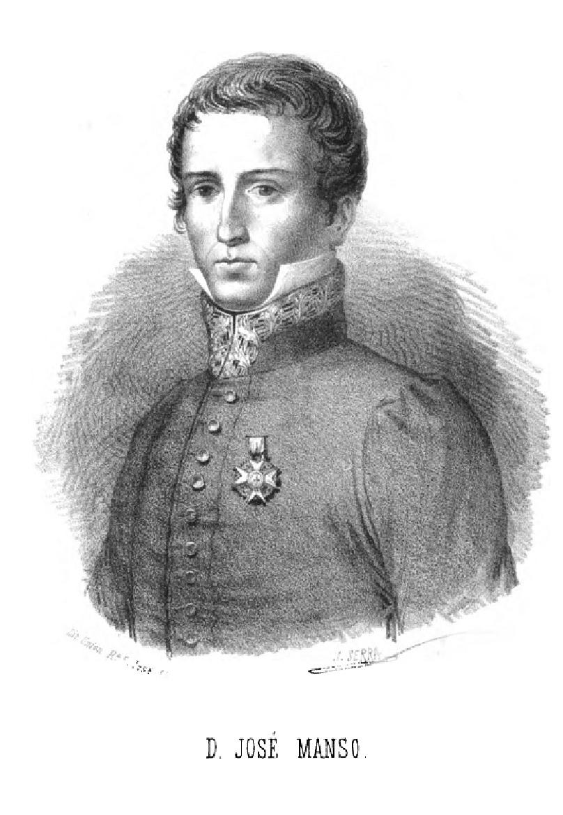 José Manso. Catalán español héroe de la Guerra de la Independencia.Barcelona