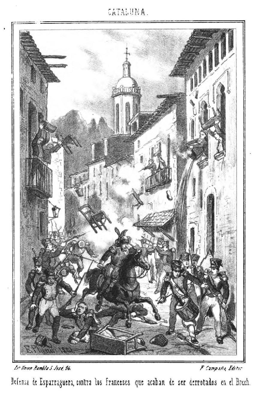 Defensa de Esparraguera. Guer...a independencia española-1