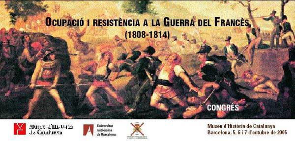 Ocupación y resistencia a la GUERRA DEL FRANCÉS. 1808-1814. GUERRA DE LA INDEPENDENCIA ESPAÑOLA.