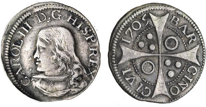 CROAT DE CARLOS III 1705