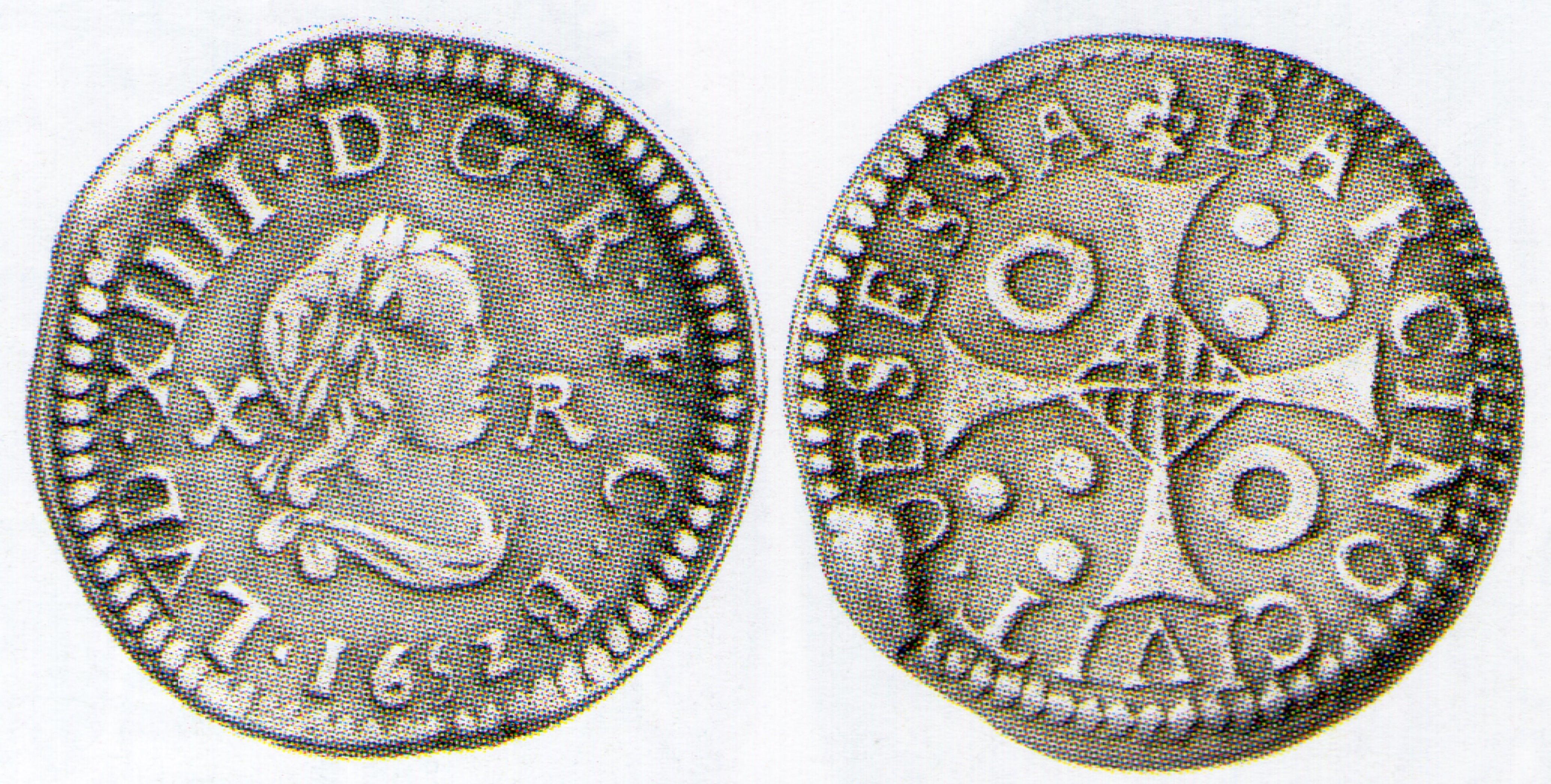 10 reales de Luis XIV. Barcelona año 1652