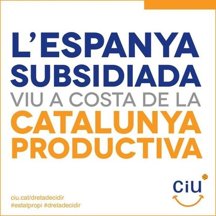 L`ESPANYA SUBSIDIADA VIU A COSTA DE LA CATALUNYA PRODUCTIVA