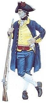Soldado, Primera Compañía franca de Voluntarios de Cataluña en Nootka, 1790-1794