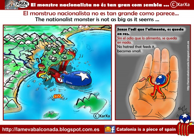 lamevabalconada.blogspot.com. Mostruo separatista.